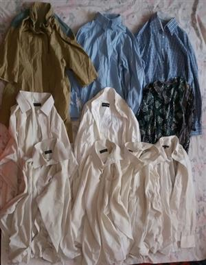 2nd Hand clothing. Size 34 upwards. All in good condition.