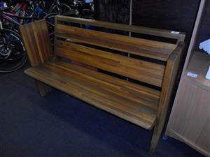 Wooden Church Bench