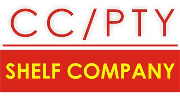 SHELF CC - REGISTERED IN 2010 FOR SALE AND 2012 PTY LTD COMPANY