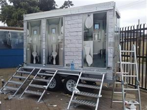 3 Door VIP Toilet