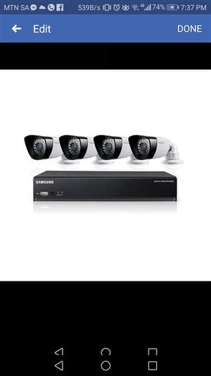Samsung Video Security Surveillance Camera System