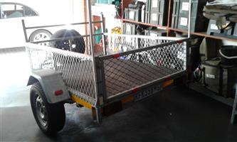 Maintenance free light trailer all round purpose