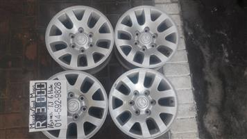 """16"""" Ford/Mazda Mags 6hole 7J for bakkies"""