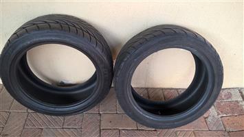 2 new Dunlop SP Sport Tyres