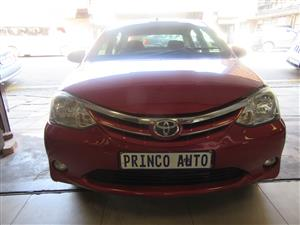 2015 Toyota Etios sedan 1.5 Xs