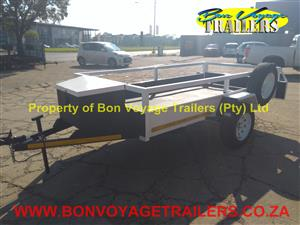LOW RAIL CUSTOM UTILITY TRAILER FOR SALE