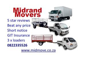 Midrand Movers 0822335526