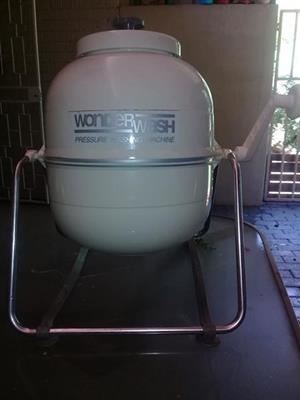 Wonder wash pressure washing machine