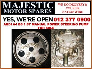 Audi A4 B6 1.8T manual used power steering pump for sale