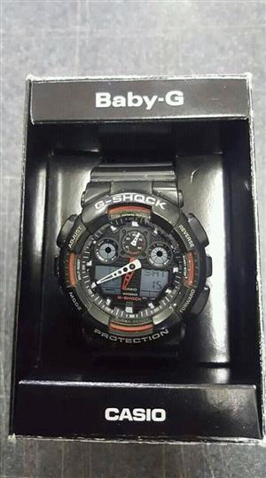 Men's Watch Casio G Shock  Model nr 5081 Ga 100 Japan movemen