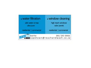 Water Filters and Window Cleaning