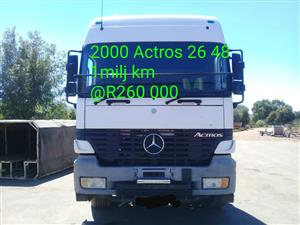 2000 Actros 26 48