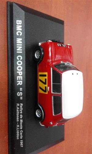 BMC Mini Cooper racing car