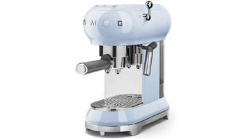 SMEG Retro powder blue coffee  machine