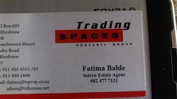 Stock wanted in Property