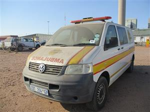 Volkswagen TDI 4 Motion Ambulance - ON AUCTION