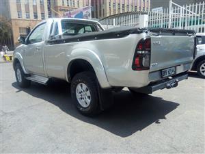 2009 Toyota Hilux single cab HILUX 2.4 GD 6 SRX 4X4 A/T P/U S/C