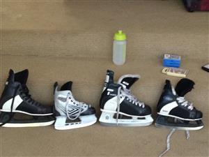 Ice hockey skAtes x4