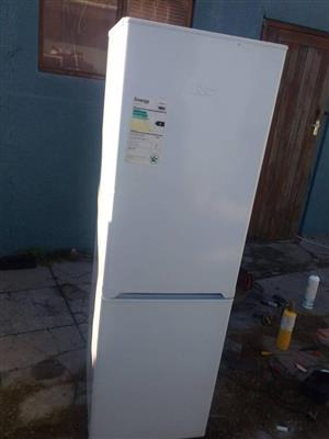 Kic white fridge.