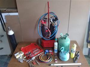 Refrigeration repair tools