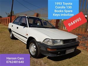 1993 Toyota Corolla 1.3 Impact