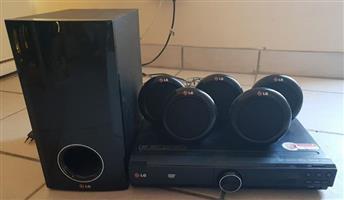 LG DVD speler met surround sound