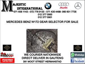 Mercedes benz W172 gear selector for sale
