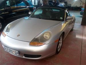 1999 Porsche Boxster auto