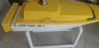 Carp king bait boat