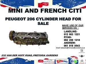 Peugeot 206 cylinder head for sale !!