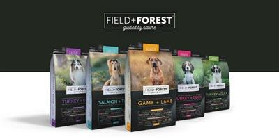 Field and Forest premium GRAIN FREE Dog food available at PETS4LIFE BRACKENFELL