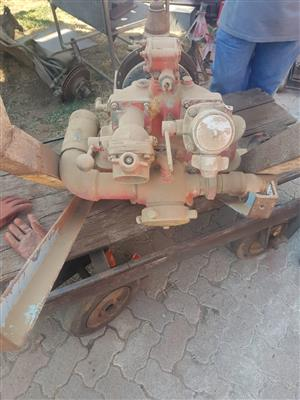 Fire Fighter Water Pump