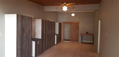 newly renovated house with different sizes of rooms with diff sizes