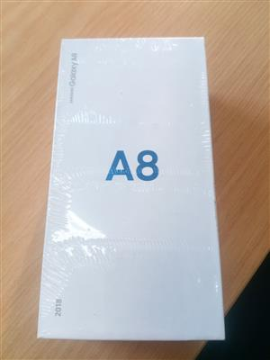 Samsung A8 New sealed in Box