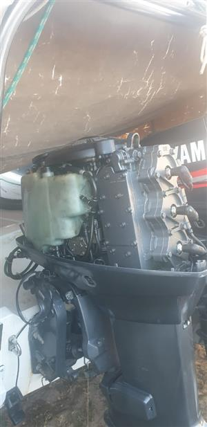 2 x 70hp Yamaha outboard motors complete with controls – R59 990.00 – Immaculate Condition