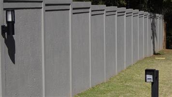 PRECAST  WALLING AND PALISADE FENCING