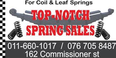 Krugersdorp Spring Sales T/A Top Notch Spring Sales