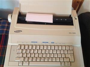 Samsung  SQ1000 Electric Typewriter