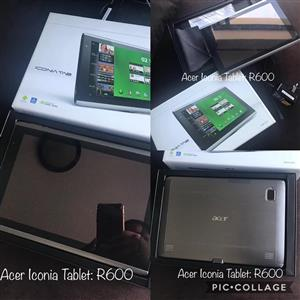 Acer Iconia tablet for sale