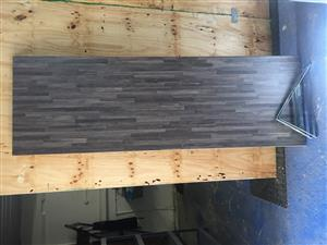 Timber board with brackets