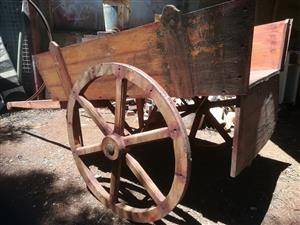 Large wooden cart