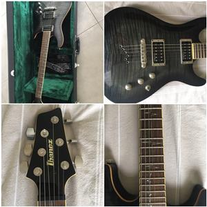 Ibanez SZ520 electric guitar and prestige case