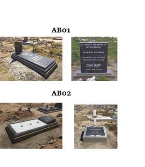Tombstones & Counter tops