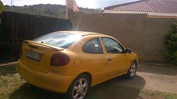 2000 Renault Megane Coupe Megane coupe 1.6 Expression