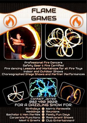Fire Dancers - Flame Games Professonal Fire Dancers