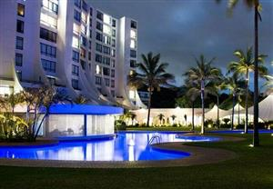 BREAKERS RESORT - HIGHRISE  -  UMHLANGA -  6 SLEEPER UNIT - CHRISTMAS & NEW YEAR WEEKS FOR RENT - R33 000P/W