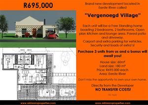 New Development launching in Eerste River