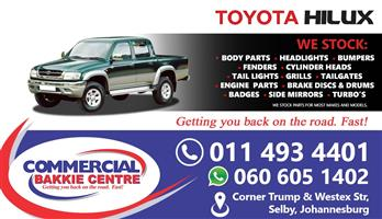 toyota hilux tn130 spare parts