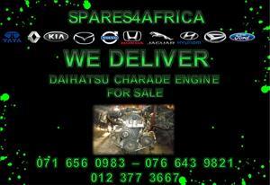 Daihatsu Charade Engine For Sale