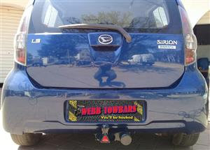 Daihatsu Standard/Detachable Towbars, Double Tube & Step Towbars, Channel Towbars